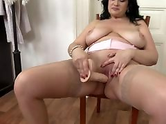 sexy milf strapon gif busty booty mom takes big rubber cock