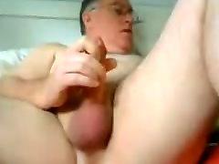 old man doing enjoy