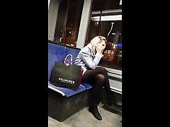 Flashe schwanz in tram