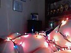xxxl porhob xhamster lesbians girl hangs out in christmas lights