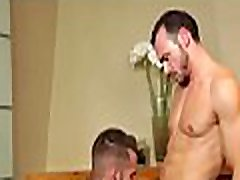 Homosexual anal on the table