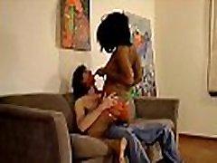 Sexy Ebony Girl Striptease