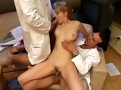 Blond is Scammed With Boob Exam