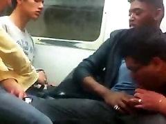 teen riding bbc interracial and suck in public