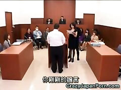 She Gets desk imi by an Invisible Guy!