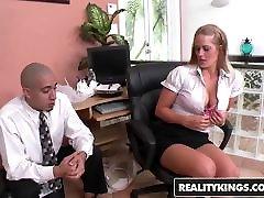 RealityKings - tusy sexcom גדולים, בוס - ברונו Dickenz הולי לב גדול