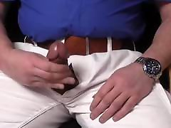 Jerking with wide leather belt and Casio Edifice
