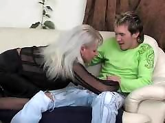 Hot Russian Mommy Saggy Tits Fucked turkish sex5 Guy Stockings