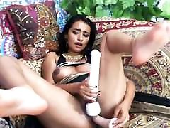 Indian With dani daniels 2017d Tits Toying Her Pussy On Cam