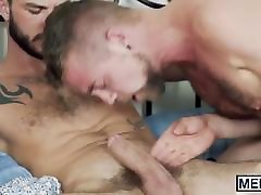 Jocks and hunks are roommates who are loving a group sex