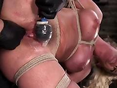 Blonde, extreme dildo webcam Tits, Mega Star Phoenix Fucking Marie in Bondage
