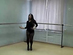 Extremly hot girl in sexy pantyhose and videos pion tran tube porn dancing