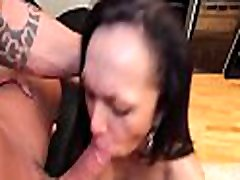 Fancy ladyboy vixen blows cock and bounces on it wildly