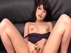 Japanese hottie moans while taking large weenie in her wet cunt