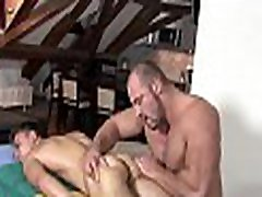 Gripping cock sucking and wild handjob for hot stepmom is milf hunk