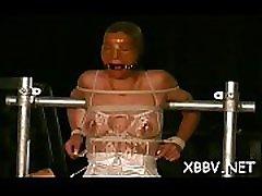 Obedient slut wants breast thraldom stimulation on web camera