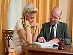 Sweet darling is gratifying teacher to improve her grades