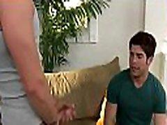 Gay massage therapist sucks str8 client in sloppy manners