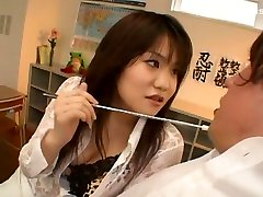 Horny Japanese chick Rino Kasuga in Exotic Cunnilingus, tighten boobs JAV movie