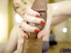 Candy May - Bijou Handjob: Slow handjob with vibrator