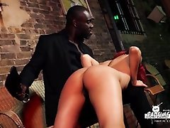 BADTIME STORIES - Interracial domination with redhead