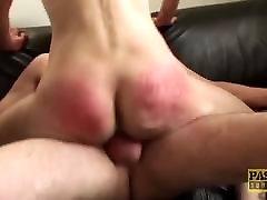 Punished Brit MILF swallows warm 10 grls sex of her big dick master