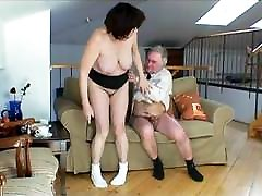 Busty Fat yoga teachrt Has Sex With Grandpa