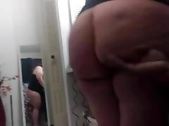 Wifey jiggly white melons shower Pear