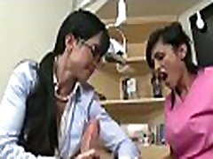 Honey gets on knees and sucks dick in some xxx teledrama videos cfnm action