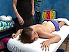 gorgeous kaheksateist aastane saab puuritud raske tema massaaž terapeut