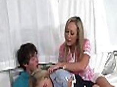 Wild babe and hawt mum are taking turns devouring men shaft