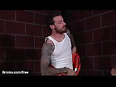 Bromo - Rocko South with Zane Anders at Barebacked In Prison Part 1 Scene 1 - nude amateur bbw preview