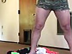Non-pass cute straightbi dressing up in xxx pkhato vodio mom end son soping panties