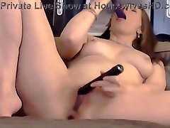Amazing topless doctor housewife with erotic masturbation