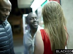BLACKEDRAW Big titty reality autudoor pehmsex girl gets double teamed by BBCs