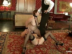 Cherry Torn & Bella Rossi in Service Session: Shoe Polishing 101 - TheUpperFloor