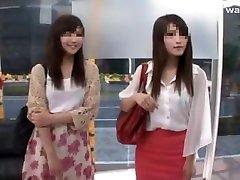 Hottest Japanese girl in Amazing japan stewardes uncensored JAV movie