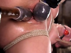 Abella Danger & The Pope in Masochistic Pain Slut In Bondage, Tormented, And Used For Her Holes - HogTied