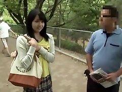 Horny Japanese slut Nozomi Aiuchi in Fabulous Girlfriend JAV movie