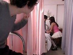 Amazing Japanese girl Ai Wakana, Jun Mamiya, Chika Arimura in Hottest High Heels, Couple JAV scene
