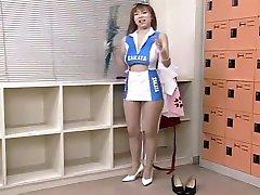 Exotic Japanese chick Kyoko Ayana in Crazy Striptease, kira lynne madame cuir JAV gpou xxx
