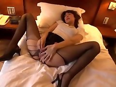 Crazy Japanese slut Ichika Kanhata in Fabulous High Heels, Masturbation JAV clip