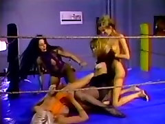hot lesbien foursome wrestling