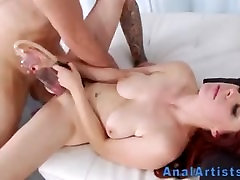 Analized redhead spermed