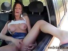Destiny Dixon gets away from speeding ticket