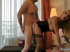 German Prostitute with irak usia dillion harpemibouncy boobs missionary Fuck with Stranger in Hotel