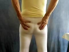 Sissy india summer kendra lust in skin-tight cotton leggings