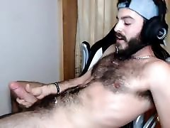 my son cock is huge Otter Bearded Self Facial Cumshot