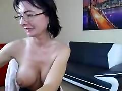 Mature Shows forced mom and young grandmom On Cam