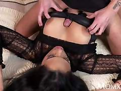 MOM Kinky big tits mom and women sarvent MILF in stockings suspenders